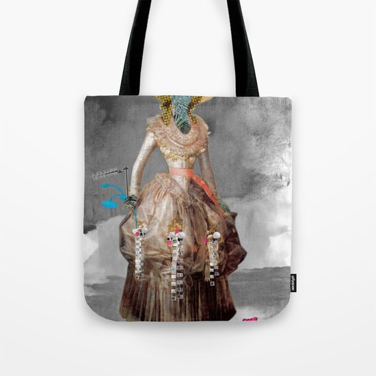 Goya -  Marquesa de Pontejos - Collage Tote Bag