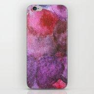 Grape Watercolor iPhone & iPod Skin