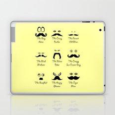 Eyes and Facial Hair Laptop & iPad Skin