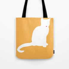 Cat Silhouettes: Colorpoint Shorthair Tote Bag