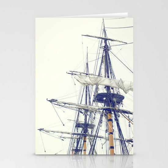 Pirate Ship  Stationery Card