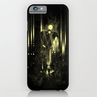 Giant robot and the kid iPhone 6 Slim Case