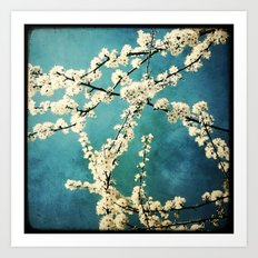 Waiting for Spring to Bloom Art Print