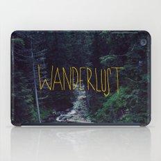 Wanderlust: Rainier Creek iPad Case
