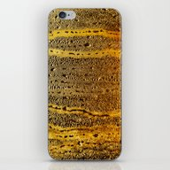 Golden Abstract iPhone & iPod Skin