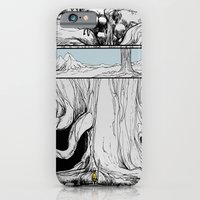 iPhone & iPod Case featuring Lost by Art is Vast