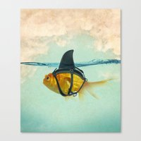 Canvas Prints featuring Brilliant DISGUISE by vin zzep