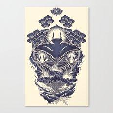 Mantra Ray Canvas Print