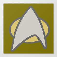 Star Trek, Communicator  Canvas Print