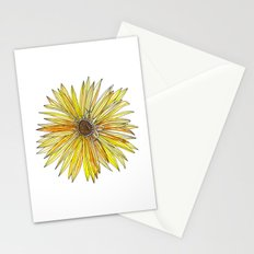 Yellow Gerber Daisy Stationery Cards