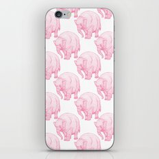 Pink Elephant iPhone & iPod Skin