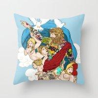Jesus Piece Throw Pillow