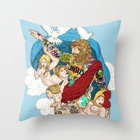 Jesus Piece Throw Pillow