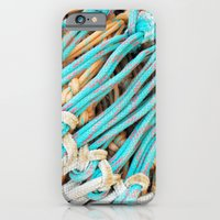 Fishing nets iPhone 6 Slim Case