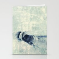 Graphic Eye Horse Stationery Cards
