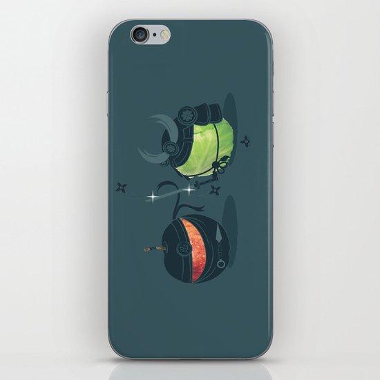 ninja vs samurai iPhone & iPod Skin