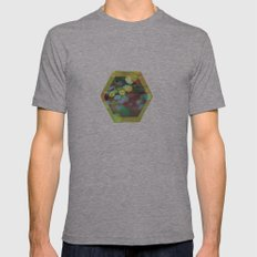 Honeybee Mens Fitted Tee Athletic Grey SMALL