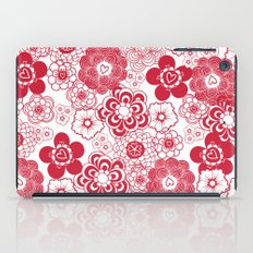 giving hearts giving hope: red garden iPad Case