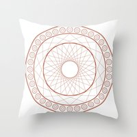 Anime Magic Circle 3 Throw Pillow