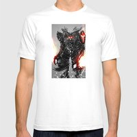 Zodiac Aries Mens Fitted Tee White SMALL