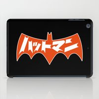 Japanese Red Bat Symbol iPad Case