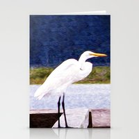 Egret Regret Stationery Cards