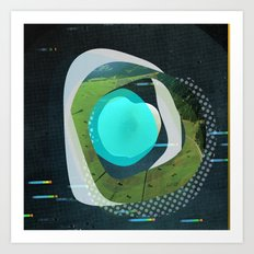 The Abstract Dream 3 Art Print