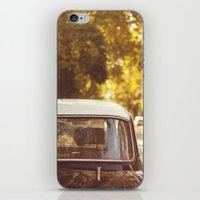 Autumn streets iPhone & iPod Skin