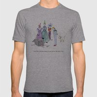 The King's Birthday Mens Fitted Tee Athletic Grey SMALL