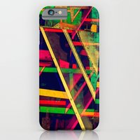 iPhone & iPod Case featuring Industrial Abstract Green by Arturo Peniche