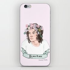 Be Nice To Nice iPhone & iPod Skin