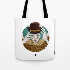 Pierrot...Pierrette Tote Bag