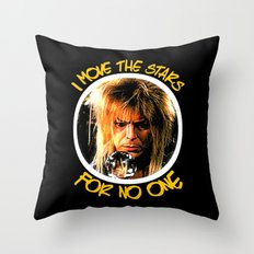 Labyrinth  |  I Move The Stars For No One   Throw Pillow