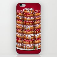 Donuts IV 'Merry Christm… iPhone & iPod Skin