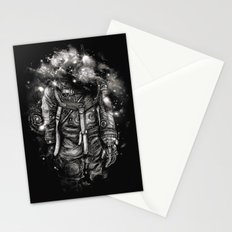 Lost In Cosmic Shades Stationery Cards