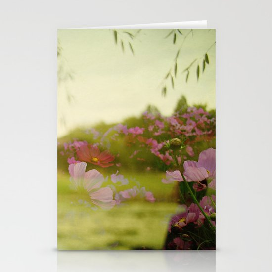 the air smelled like lightning Stationery Card