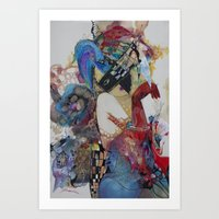 Arlekino Art Print