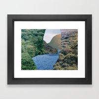How We Got Back There Framed Art Print