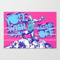 Dolph Ziggler Canvas Print