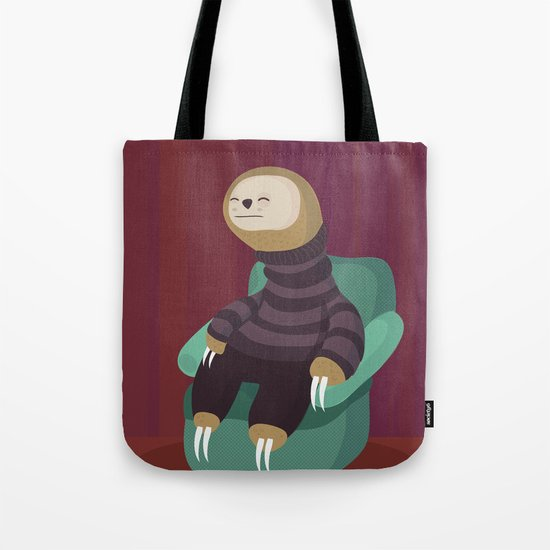 7 deadly sins Sloth Tote Bag