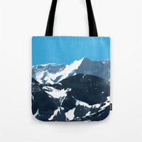 swiss mountains Tote Bag