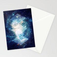 Shining Nebula - Blue Stationery Cards