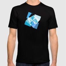 Geometry 2 SMALL Black Mens Fitted Tee