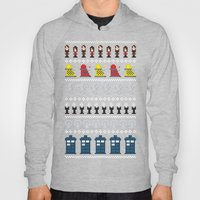Doctor Who - Time of The Doctor - 8 bit Christmas Special Hoody