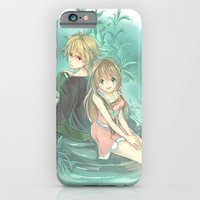 iPhone & iPod Case featuring Morning Lagoon by Moonsia