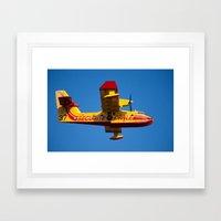 CanadAir 37 1185 Framed Art Print