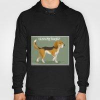 I love my beagle! Hoody