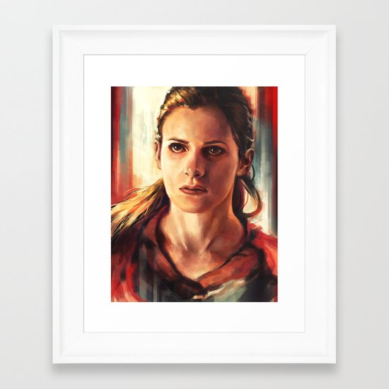 Molly Hooper Framed Art Print