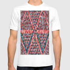 Colores Loco White SMALL Mens Fitted Tee