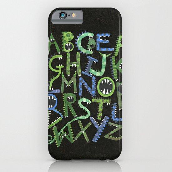 Monster Alphabet. iPhone & iPod Case